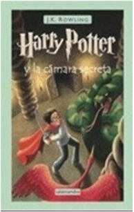 Portada de Harry potter y la camara secreta